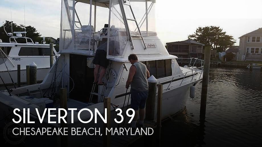 Used Silverton Fishing boats For Sale by owner | 1980 Silverton 39