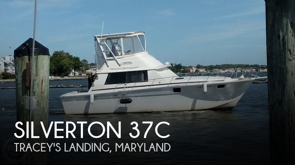 1980 Silverton boat for sale, model of the boat is 37C & Image # 1 of 41