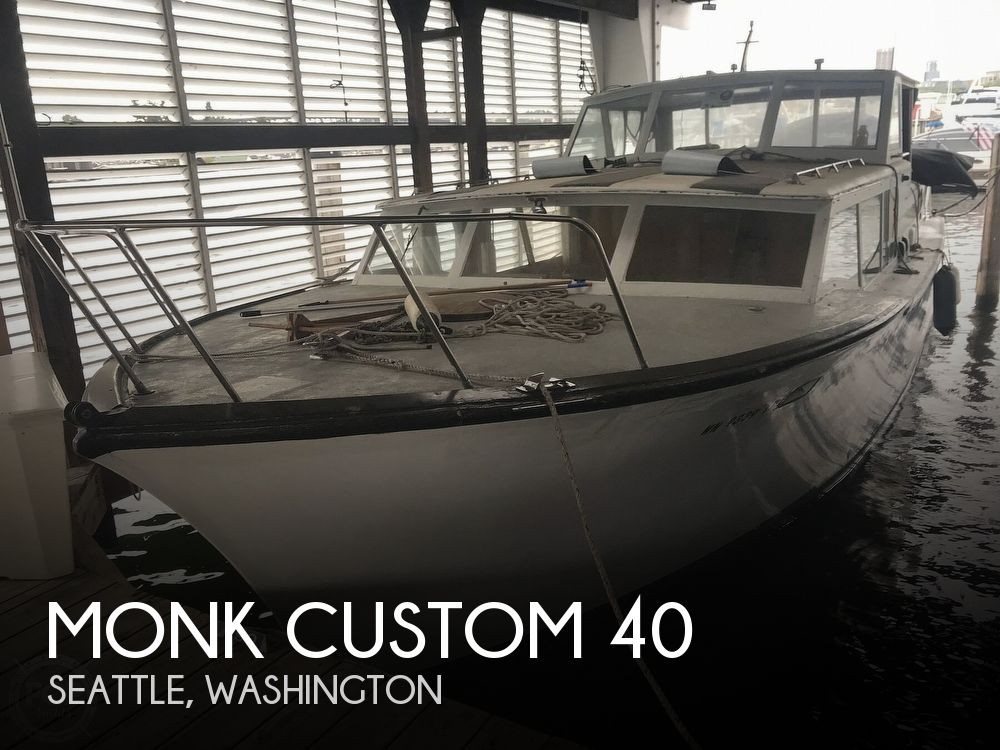 Used Monk Boats For Sale by owner | 1962 Monk Custom 40