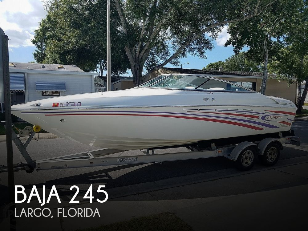 2007 Baja boat for sale, model of the boat is 245 & Image # 1 of 40