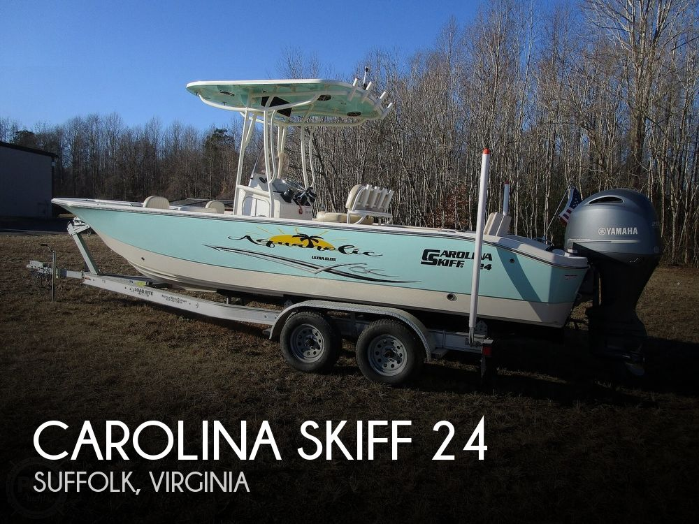 Used Carolina Skiff Boats For Sale by owner | 2017 Carolina Skiff 24 Ultra Elite