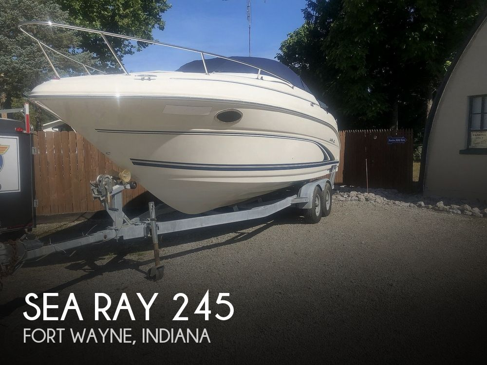2001 Sea Ray boat for sale, model of the boat is Weekender 245 & Image # 1 of 40
