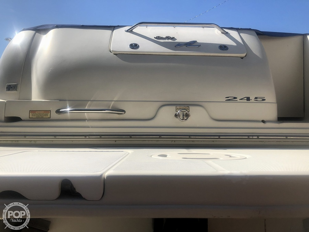 2001 Sea Ray boat for sale, model of the boat is Weekender 245 & Image # 10 of 40