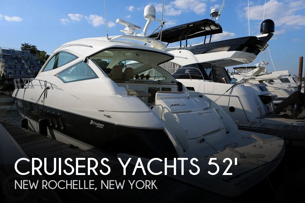 Used Boats For Sale in New York by owner | 2009 Cruisers Yachts 520 Sports Coupe