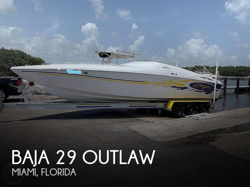 2003 Baja boat for sale, model of the boat is 29 Outlaw & Image # 1 of 40