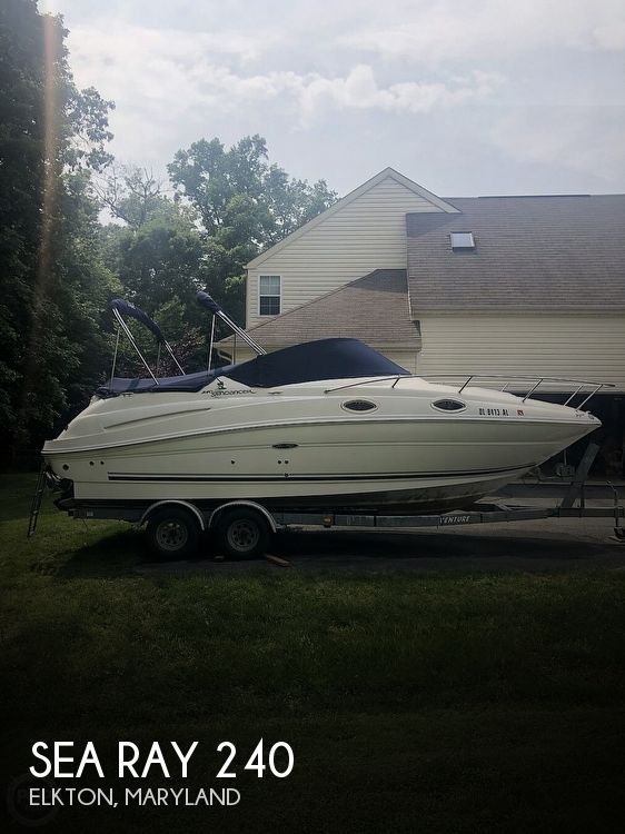 Used Sea Ray Boats For Sale in Lancaster, Pennsylvania by owner | 2007 Sea Ray 240 Sundancer