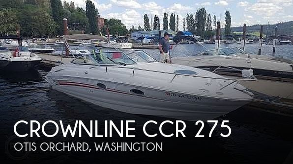 2005 Crownline boat for sale, model of the boat is CCR 275 & Image # 1 of 40