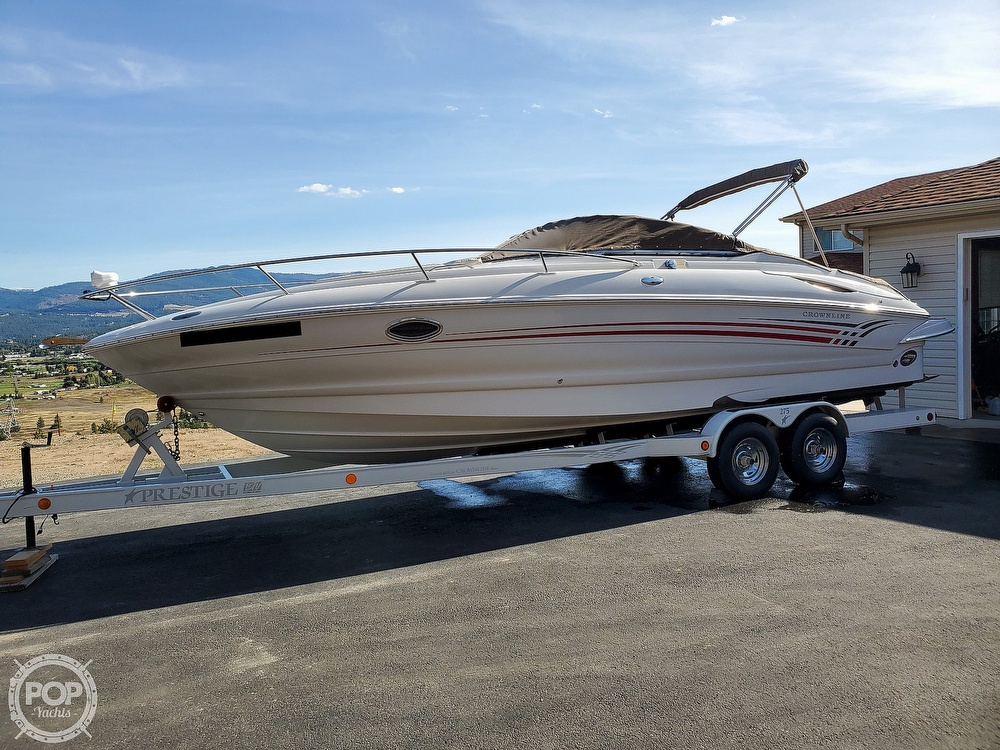 2005 Crownline boat for sale, model of the boat is CCR 275 & Image # 28 of 40