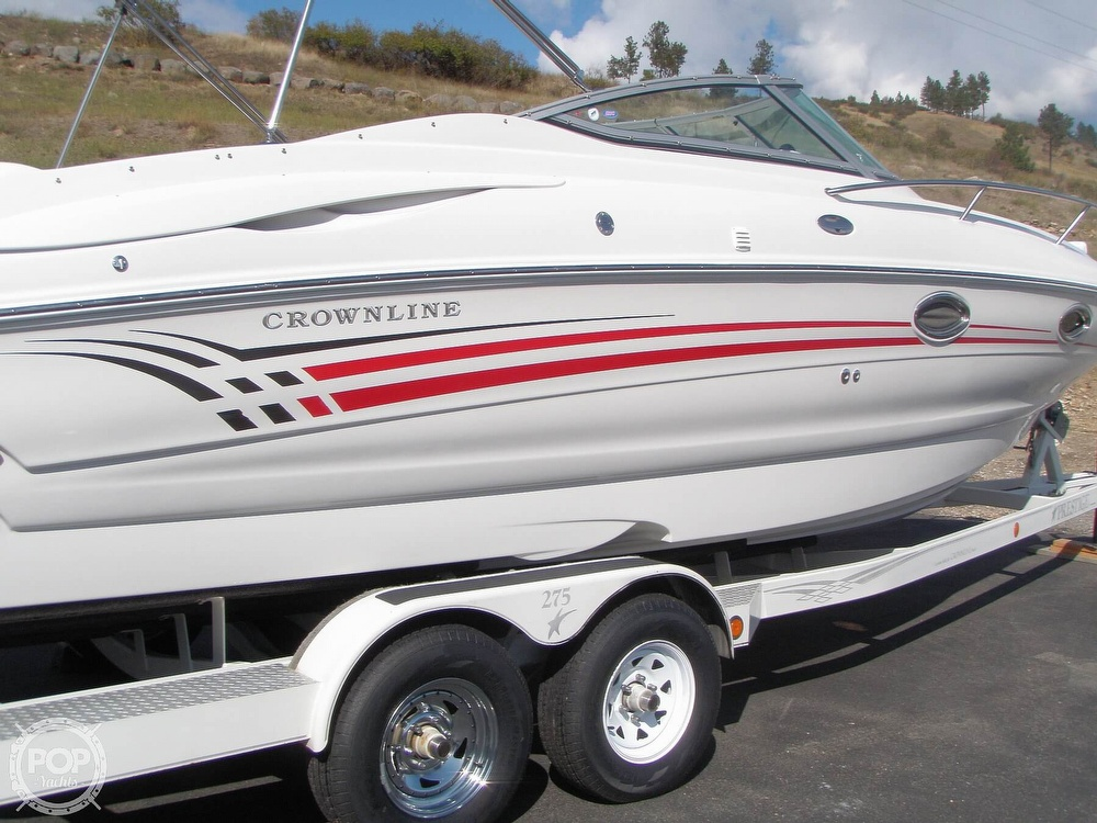 2005 Crownline boat for sale, model of the boat is CCR 275 & Image # 32 of 40