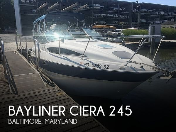 Used Bayliner Boats For Sale in York, Pennsylvania by owner | 2007 Bayliner Ciera 245