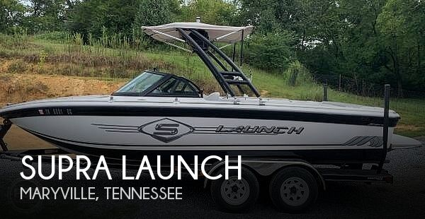 Used SUPRA Boats For Sale in Tennessee by owner | 2001 21 foot Supra Launch