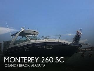Used Monterey Boats For Sale by owner | 2013 Monterey 260 SC