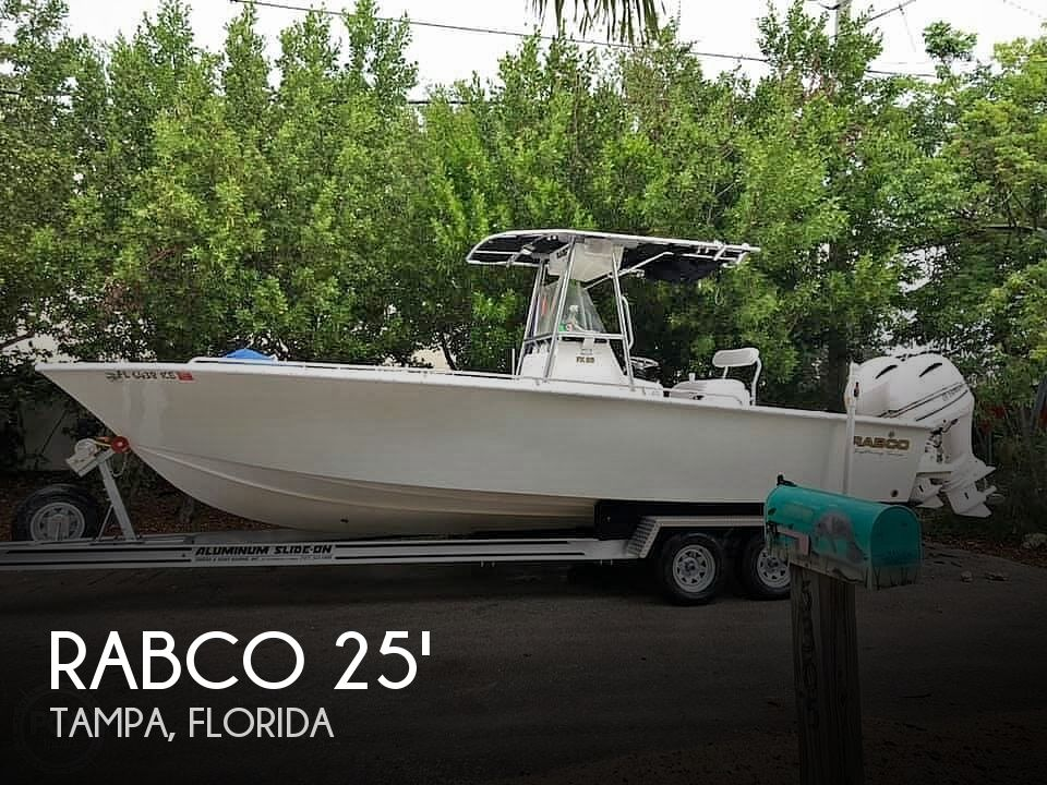 Used Rabco Boats For Sale in Florida by owner | 1997 Rabco 25