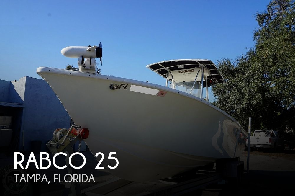 1997 Rabco boat for sale, model of the boat is 25 Center Console & Image # 1 of 40