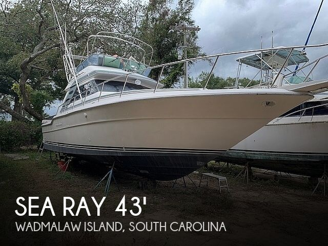 1988 Sea Ray boat for sale, model of the boat is 430 Convertible & Image # 1 of 40