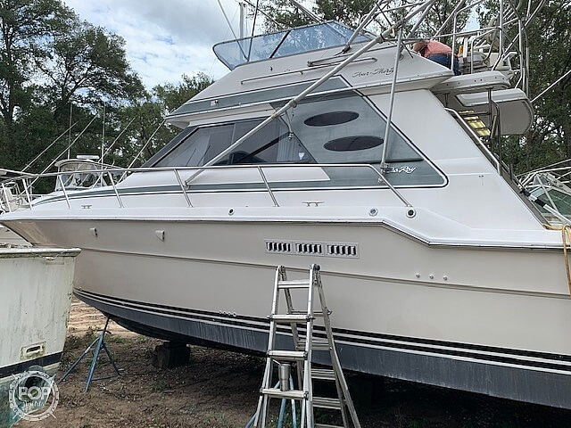 1988 Sea Ray boat for sale, model of the boat is 430 Convertible & Image # 7 of 40