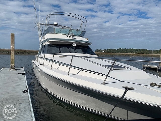 1988 Sea Ray boat for sale, model of the boat is 430 Convertible & Image # 3 of 40