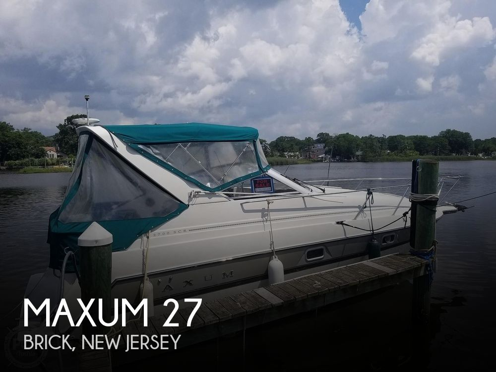 Used Power boats For Sale by owner | 1995 Maxum 27