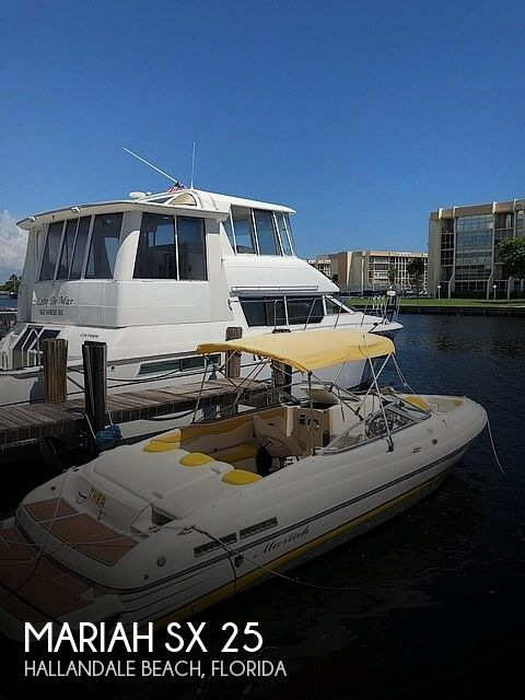 Used Mariah 25 Boats For Sale by owner | 2006 Mariah SX 25