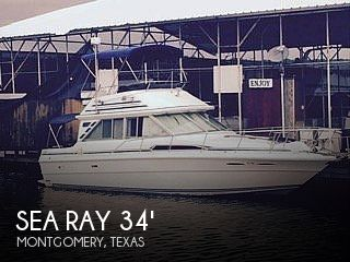 Used Sea Ray 340 Sedan Bridge Boats For Sale by owner | 1985 Sea Ray 340 sedan bridge