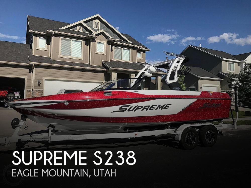 Used Boats For Sale in Ogden, Utah by owner | 2018 Supreme S238