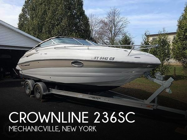 Used Ski Boats For Sale in New York by owner | 2012 Crownline 236SC