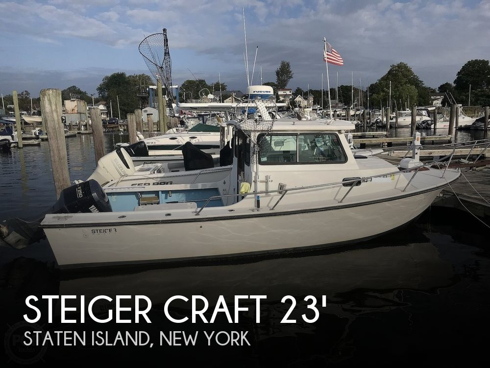 1989 Steiger Craft boat for sale, model of the boat is 23 Pilot House & Image # 1 of 41
