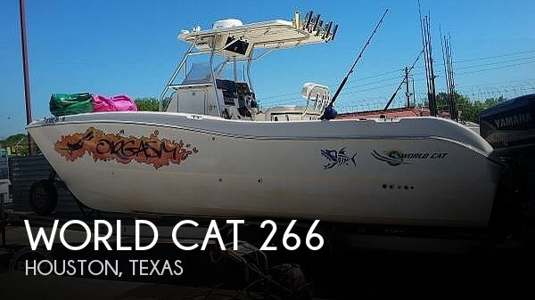 Used World Cat Boats For Sale by owner | 1999 World Cat 266