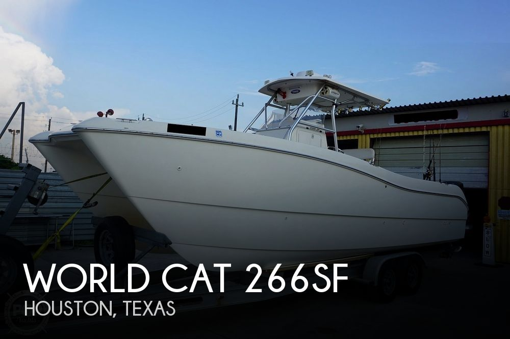 1999 World Cat boat for sale, model of the boat is 266SF & Image # 1 of 40