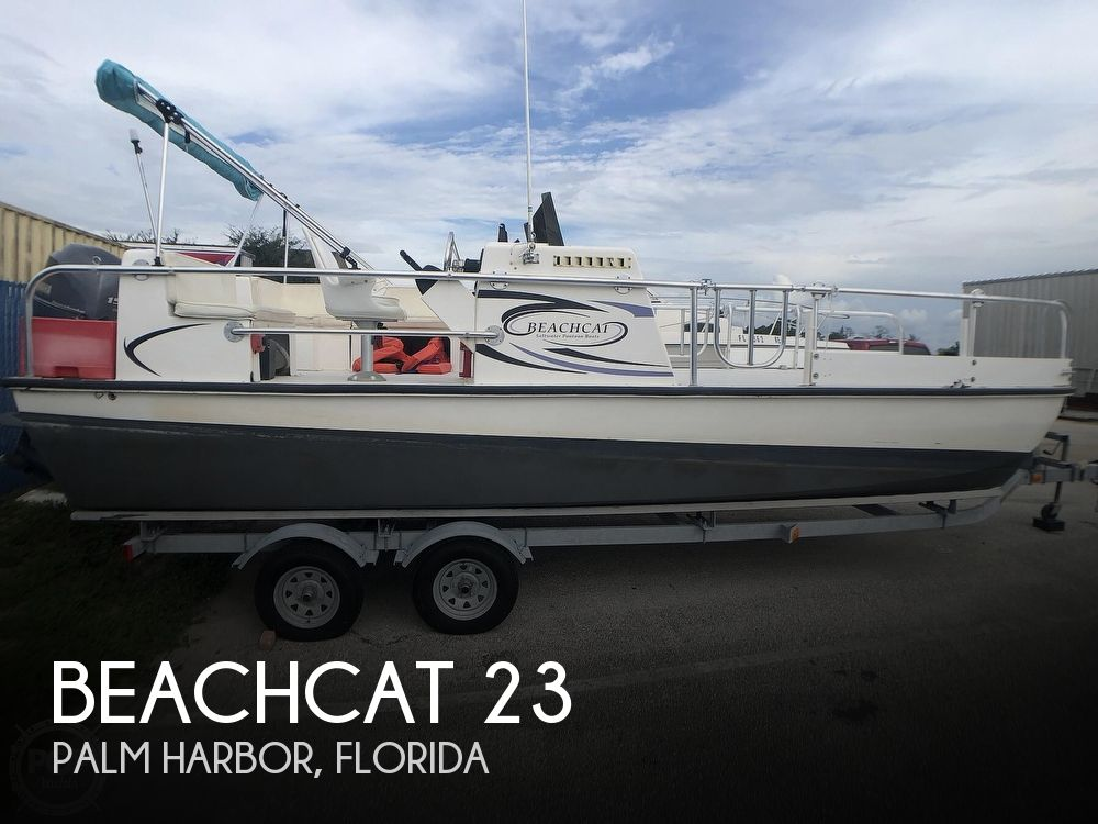 2014 Beachcat boat for sale, model of the boat is 23 Saltwater & Image # 1 of 41