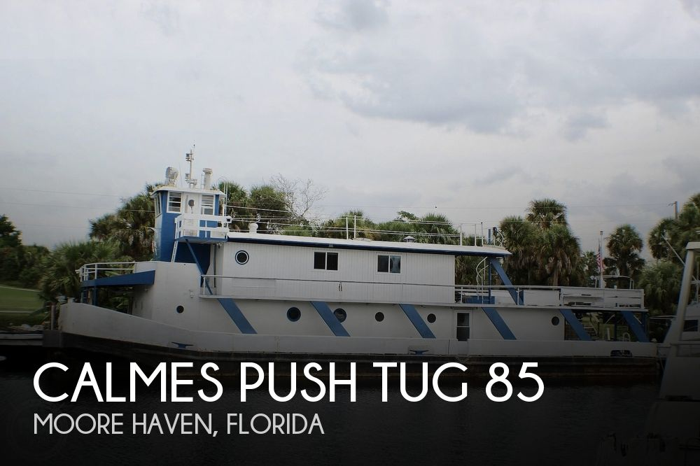 1954 Calmes boat for sale, model of the boat is Push Tug 85 & Image # 1 of 40