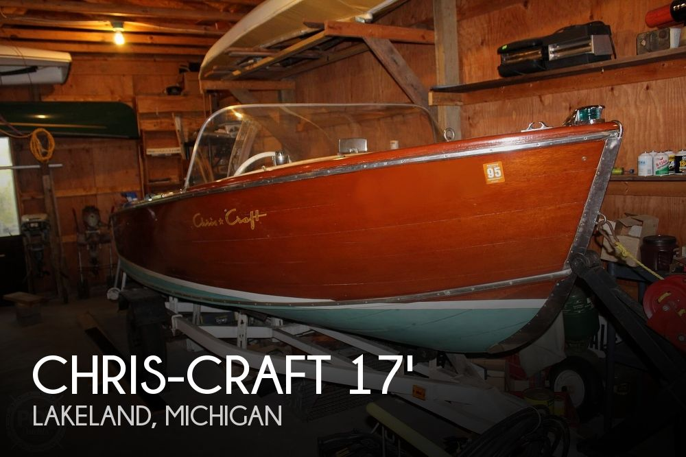 1955 Chris Craft boat for sale, model of the boat is sportsman & Image # 1 of 40