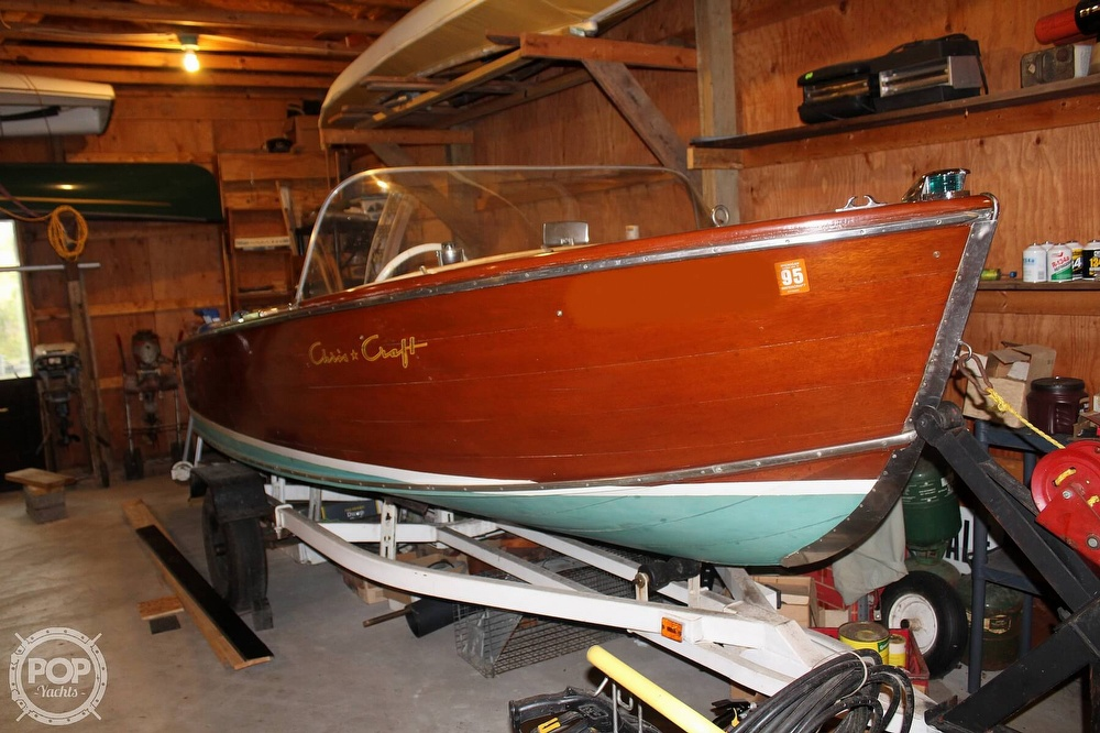 1955 Chris Craft boat for sale, model of the boat is sportsman & Image # 11 of 40
