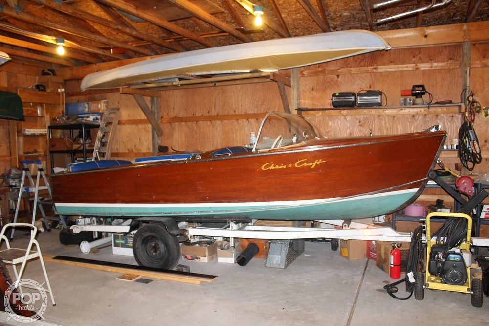 1955 Chris Craft boat for sale, model of the boat is sportsman & Image # 7 of 40
