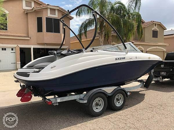 2011 Yamaha boat for sale, model of the boat is SX210 & Image # 3 of 40