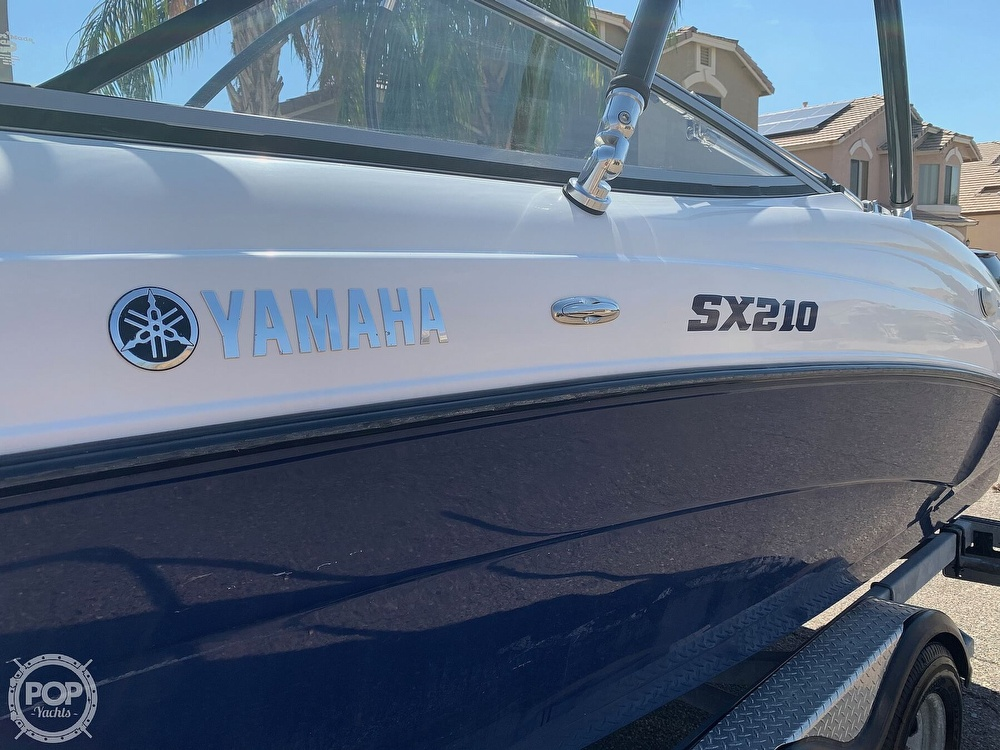 2011 Yamaha boat for sale, model of the boat is SX210 & Image # 30 of 40