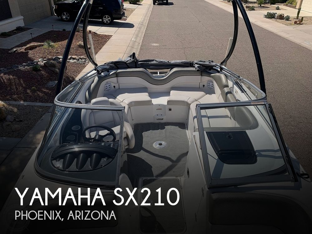 2011 Yamaha boat for sale, model of the boat is SX210 & Image # 1 of 40