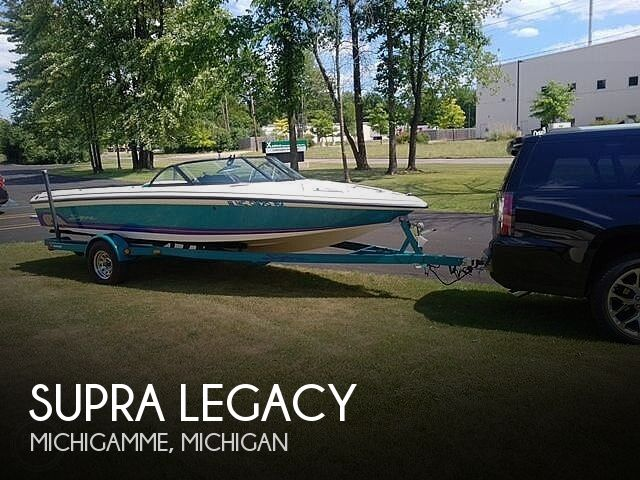 Used SUPRA Boats For Sale in Michigan by owner | 1999 20 foot Supra Legacy PL