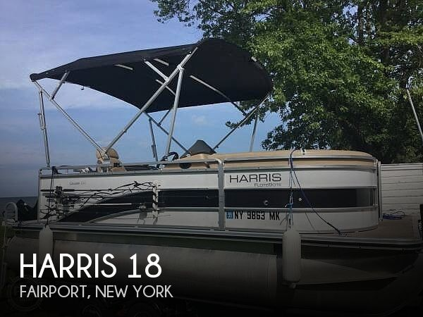 Used Harris Pontoon Boats For Sale by owner | 2014 Harris 18