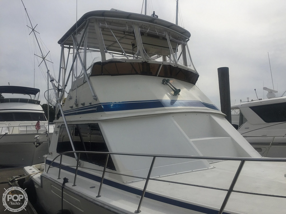 1986 Blackfin boat for sale, model of the boat is 39 & Image # 19 of 40
