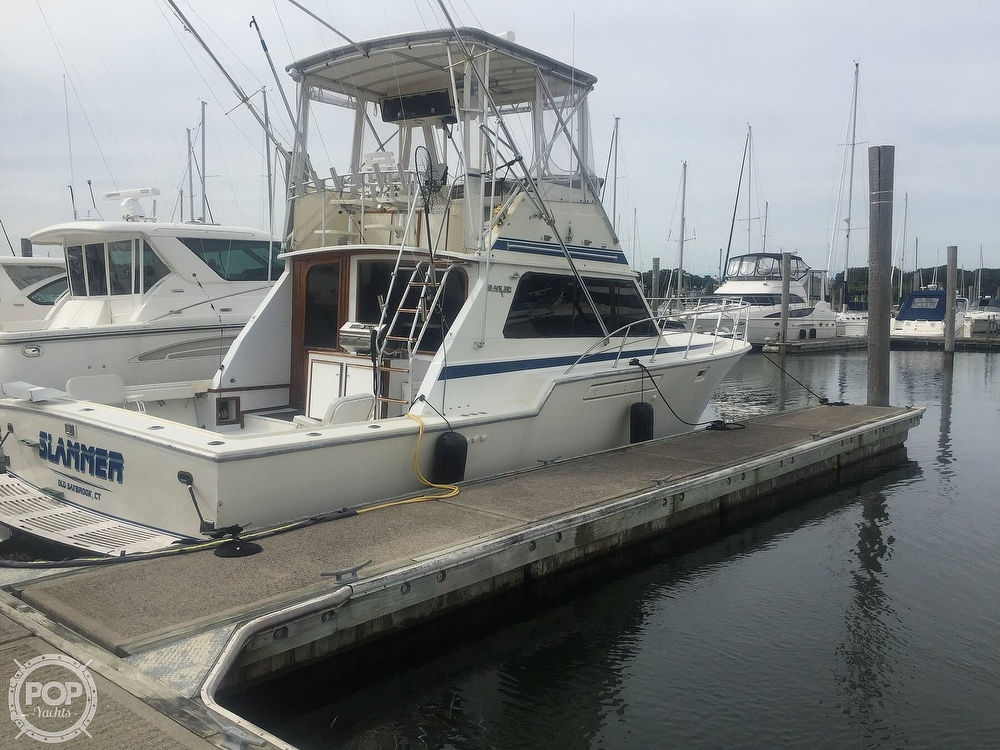 1986 Blackfin boat for sale, model of the boat is 39 & Image # 36 of 40