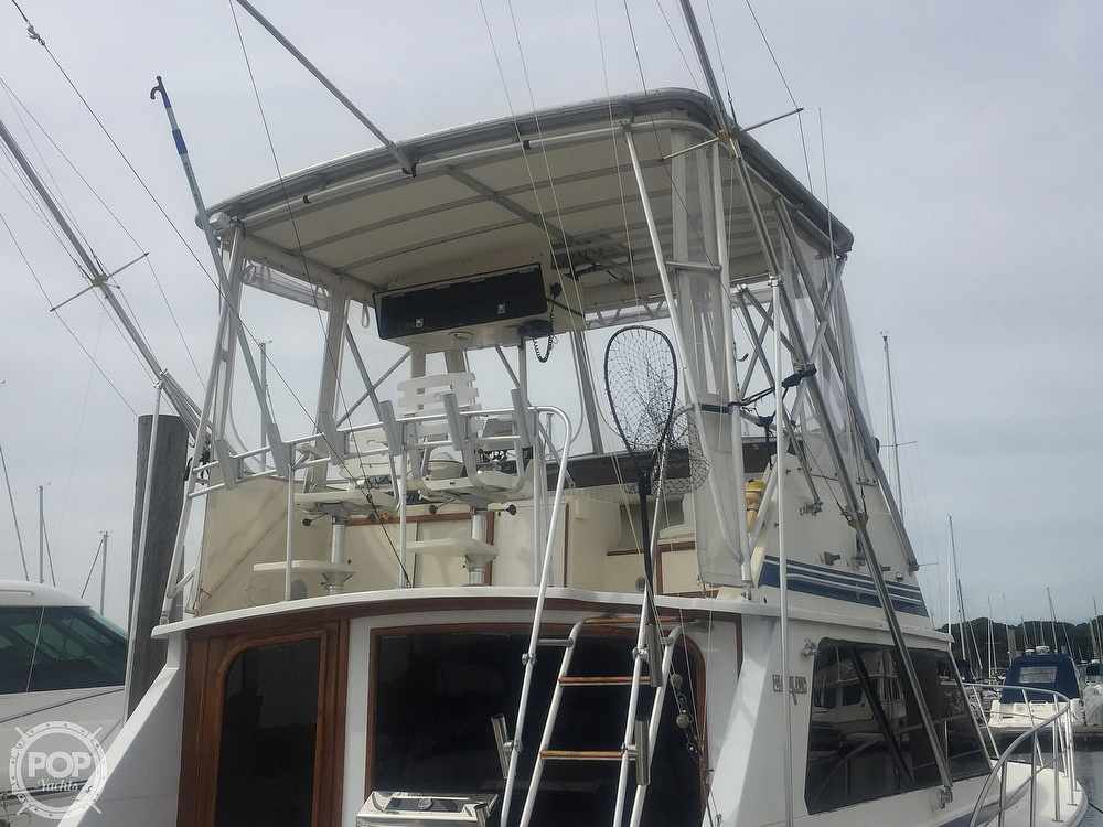 1986 Blackfin boat for sale, model of the boat is 39 & Image # 39 of 40