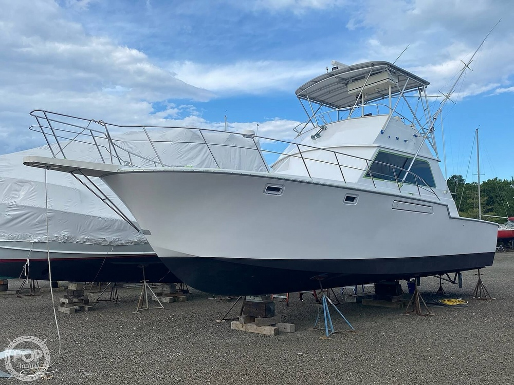 1986 Blackfin boat for sale, model of the boat is 39 & Image # 8 of 40