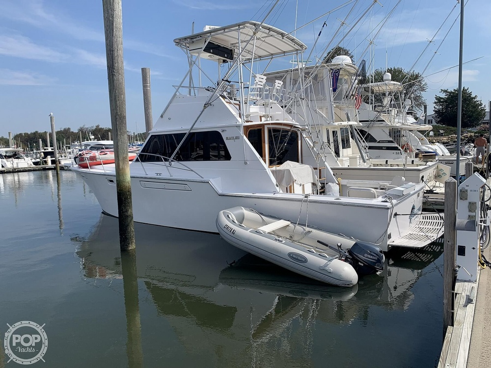 1986 Blackfin boat for sale, model of the boat is 39 & Image # 3 of 40