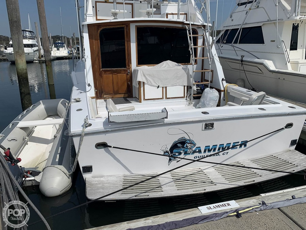 1986 Blackfin boat for sale, model of the boat is 39 & Image # 5 of 40