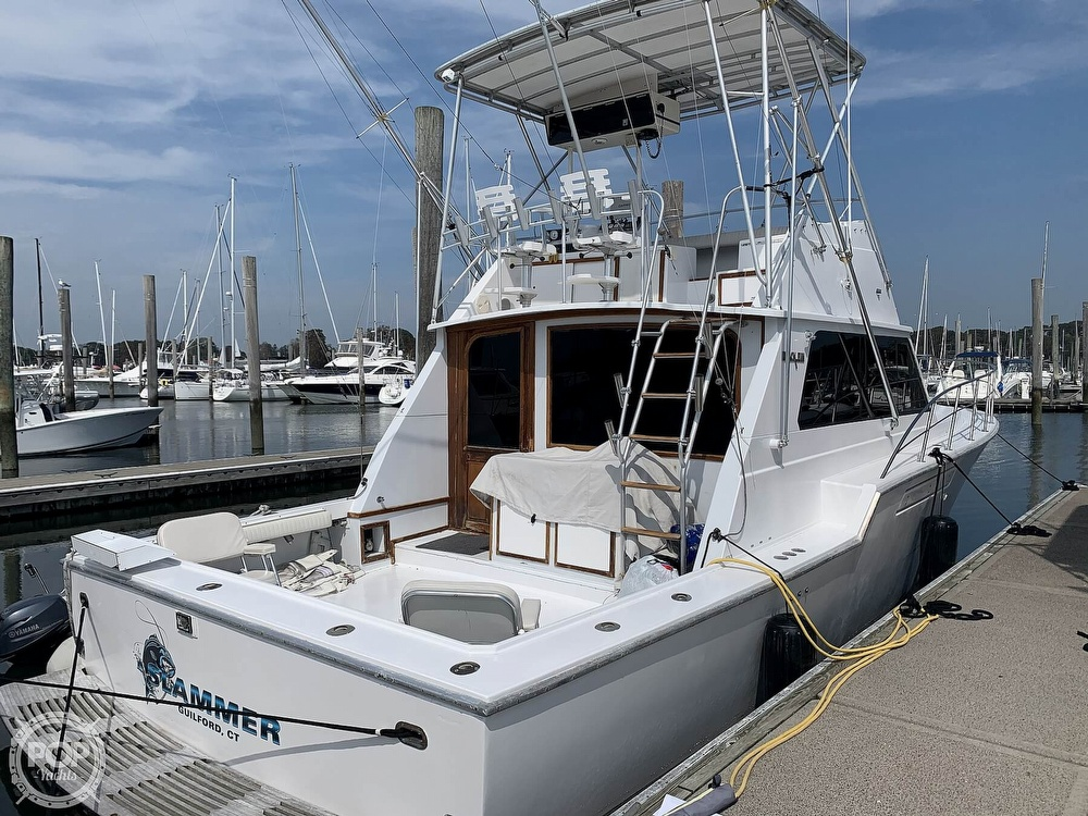 1986 Blackfin boat for sale, model of the boat is 39 & Image # 6 of 40
