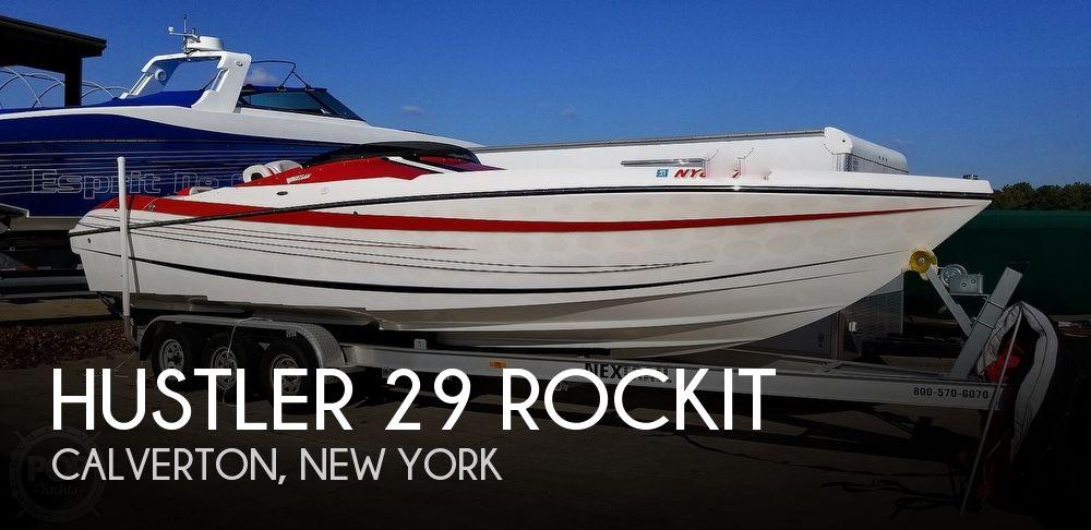 2015 Hustler boat for sale, model of the boat is 29 Rockit & Image # 1 of 40