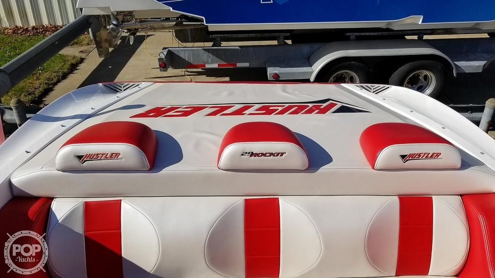 2015 Hustler boat for sale, model of the boat is 29 Rockit & Image # 24 of 40