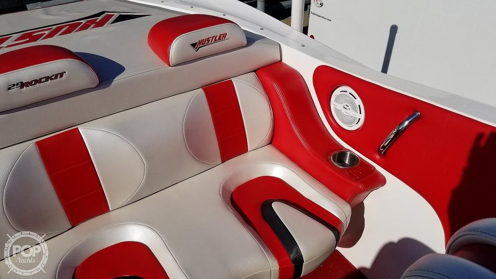2015 Hustler boat for sale, model of the boat is 29 Rockit & Image # 25 of 40