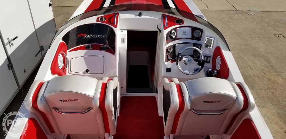 2015 Hustler boat for sale, model of the boat is 29 Rockit & Image # 28 of 40
